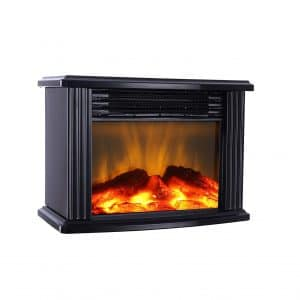 DONYER POWER 14-inches Width Mini Electric Fireplace inserts