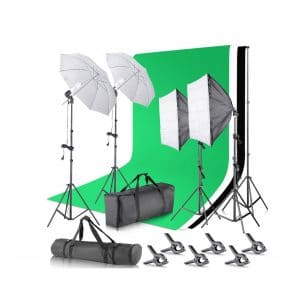Neewer 2.6M x 3M Background Support System Softbox Lights