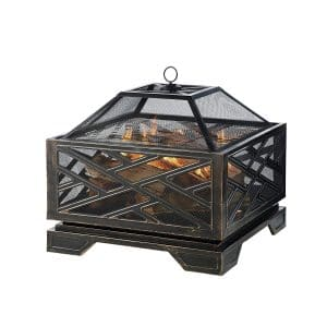 Pleasant Hearth Extra-Deep Wood Fire Pit