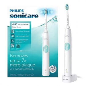 Philips Sonicare Electric Rechargeable ProtectiveClean 4100 Toothbrush Heads