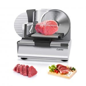 CukAid Electric Meat Slicer Machine