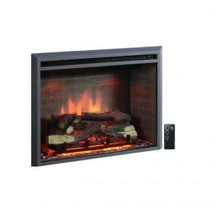 PuraFlame 33-Inches Electric Fireplace Insert