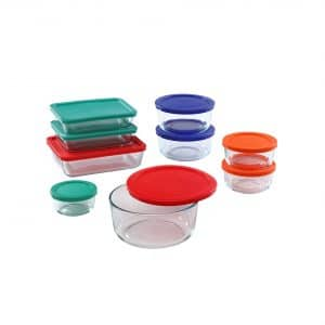 Pyrex 18-Piece Meal-Prep Container Set