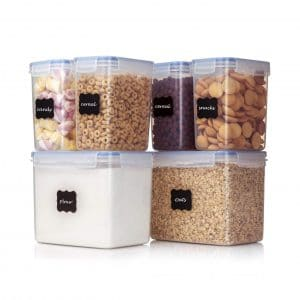Vtopmart Airtight 6 Pieces Food Storage Containers