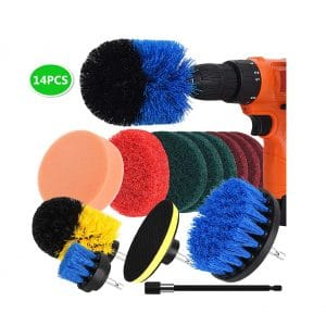 NUOSEM Drill Brush Cleaning Kit