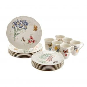 Lenox Butterfly 18-Pieces Dinnerware Set