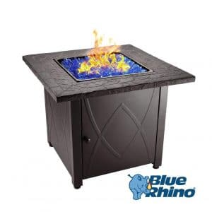 Endless Summer Blue Rhino Outdoor Propane Fire Pit