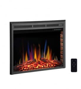 R.W.FLAME 36-inches Electric Fireplace Insert