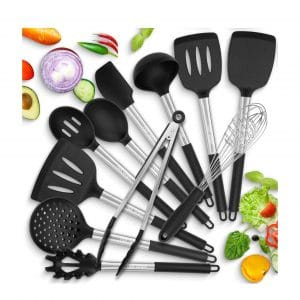 HOT TARGET Silicone Cooking Kitchen Utensils