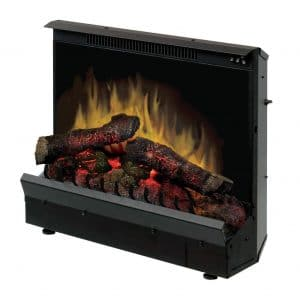 Dimplex DFI2310 23-Inch Electric Fireplace Deluxe Insert, Black