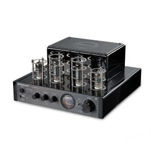 Nobsound MS-10D Hybrid Tube Amplifier w/Bluetooth for Hi-Fi (Black)